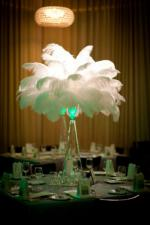 wedding flowers florist- Ostrich Feather Wedd ...